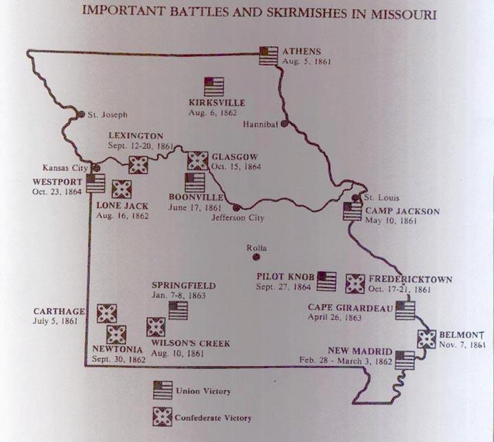 on civil war sites map